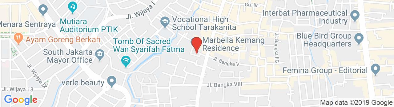 Marbella Kemang Residence Apartment