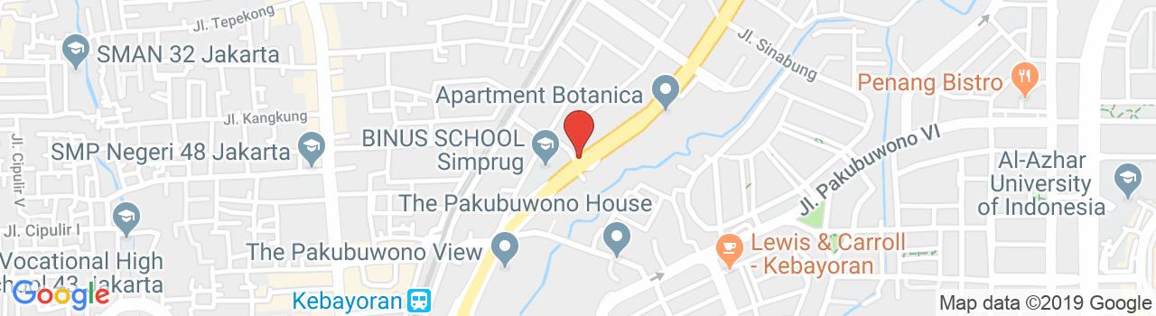 Pakubuwono Spring Apartment