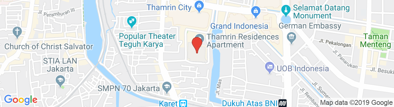 Thamrin Residence Apartment