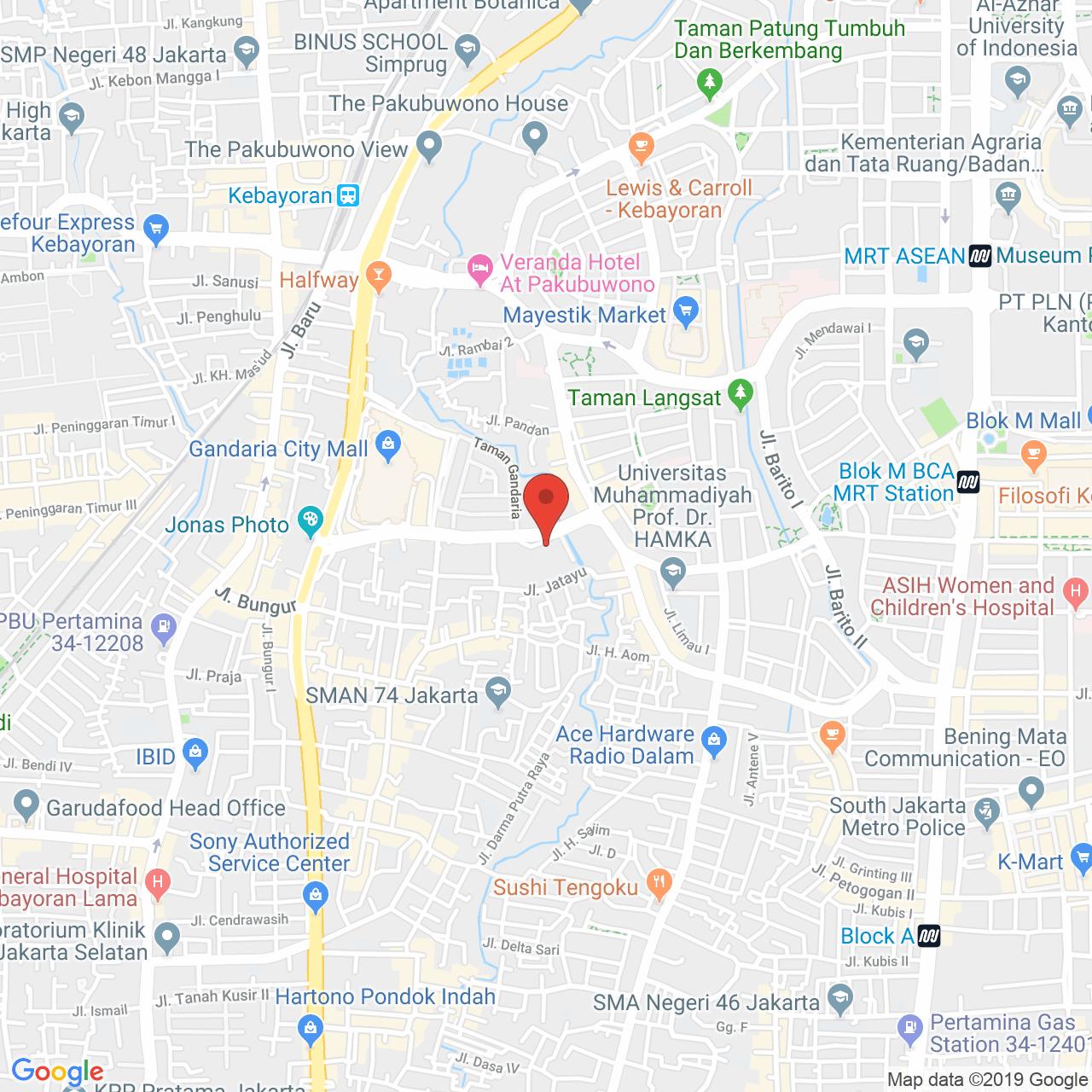 1 Park Avenue Map