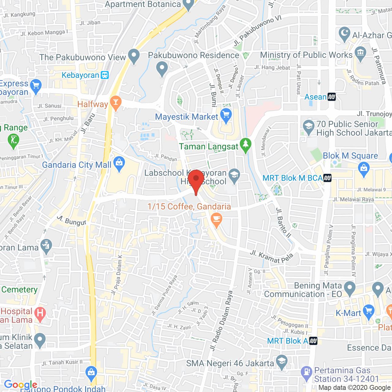 1 Park Residence Map