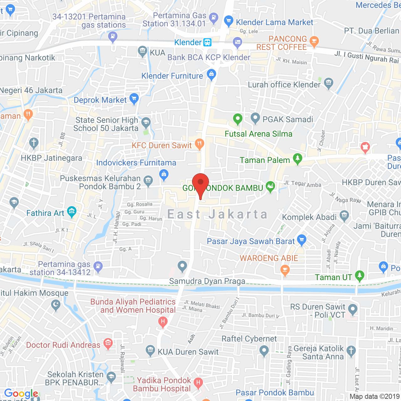 Casablanca East Residence Map