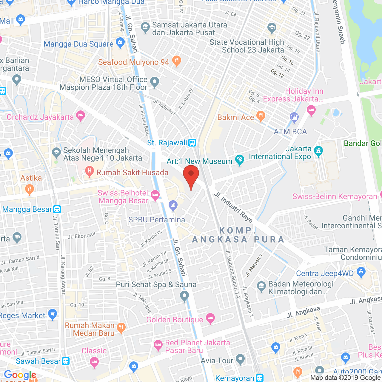 Elpis Residence Apartment Map