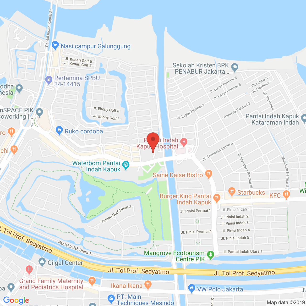 Gold Coast Apartment Map