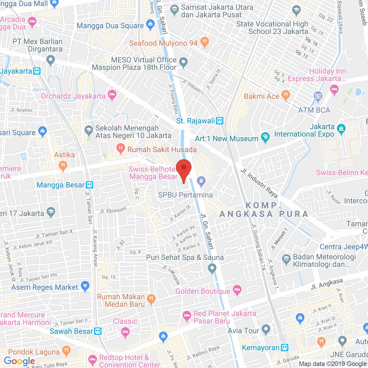 Grand Kartini Apartment Map