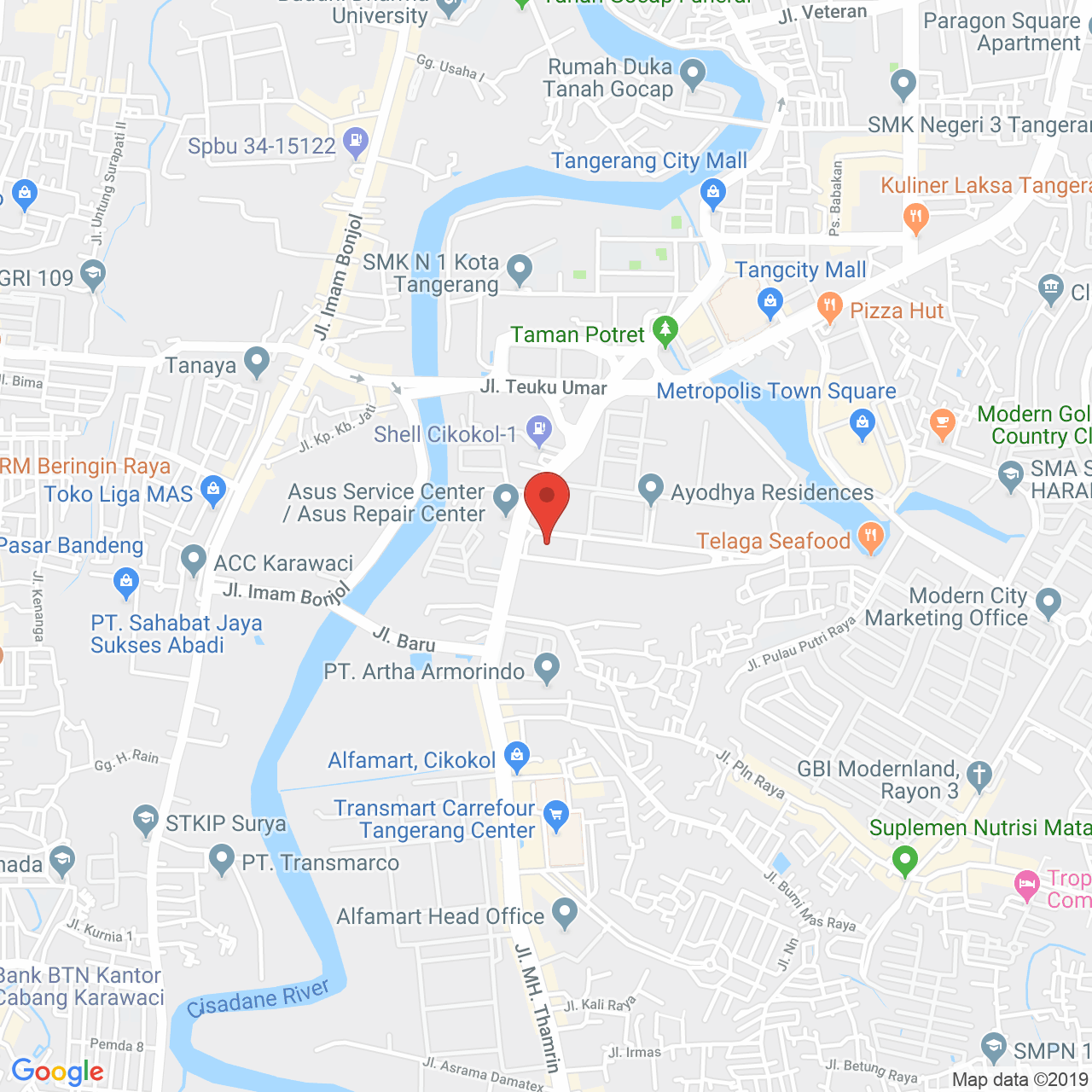 Kota Ayodhya Apartment Map