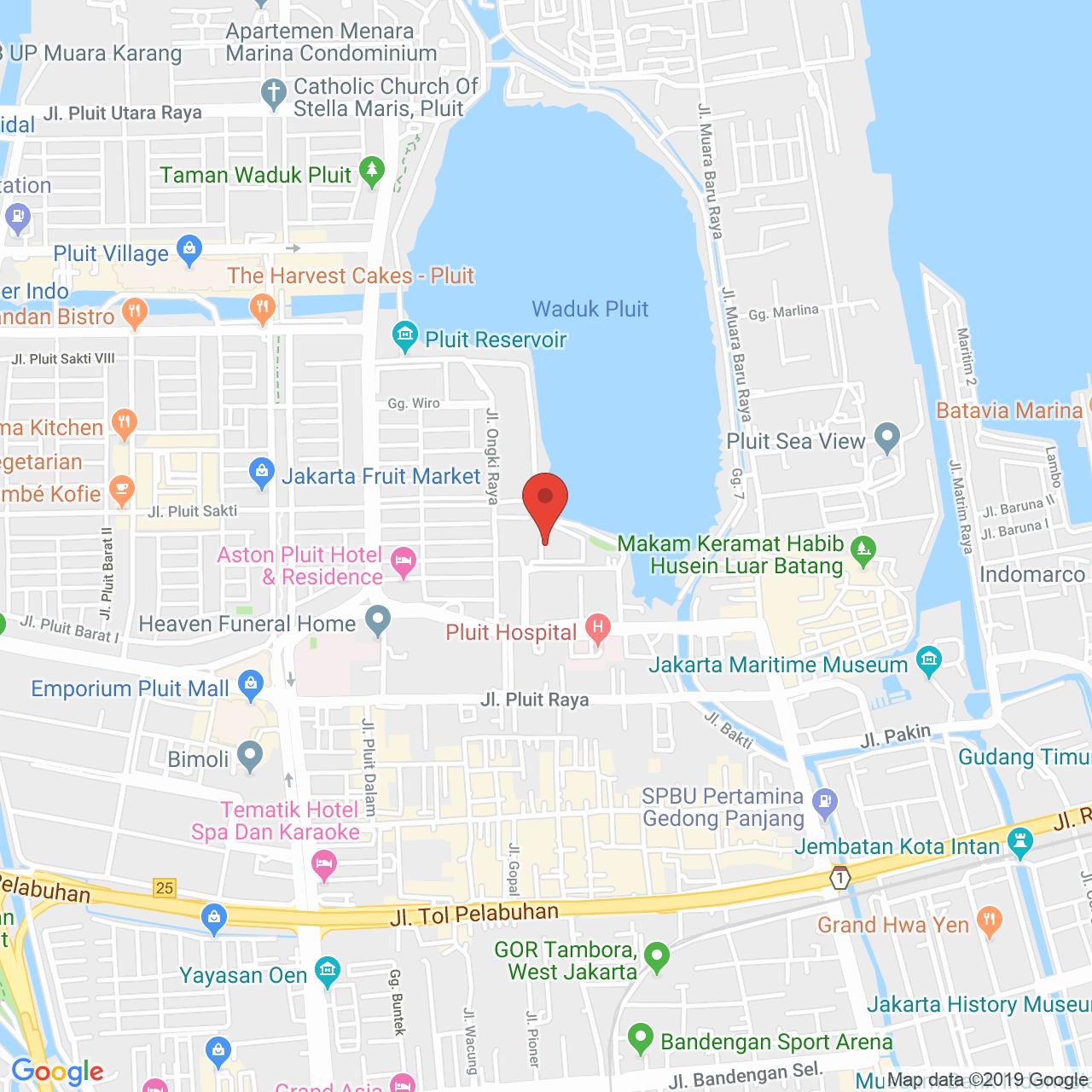 Laguna Pluit Apartment Map