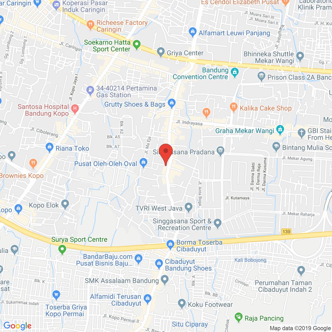 M Square Cibaduyut Apartment Map