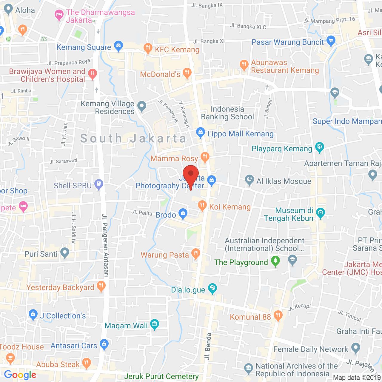 Nirvana Residence Map