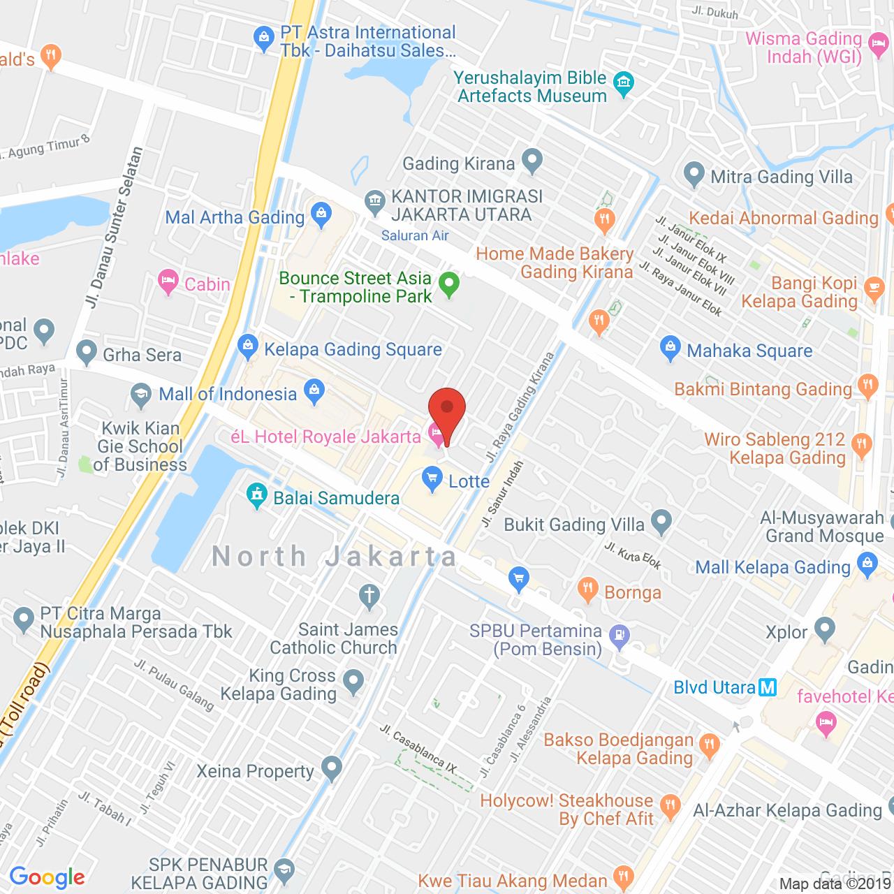 Paladian Park Map