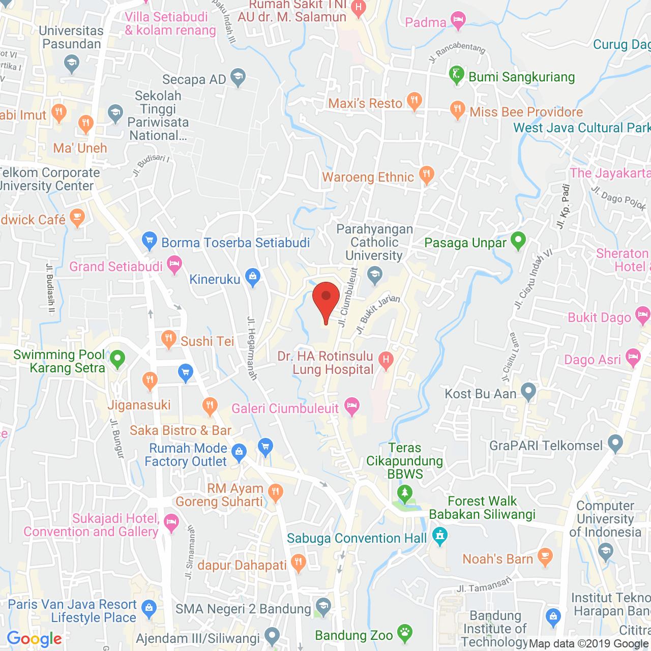 Parahyangan Residence Map