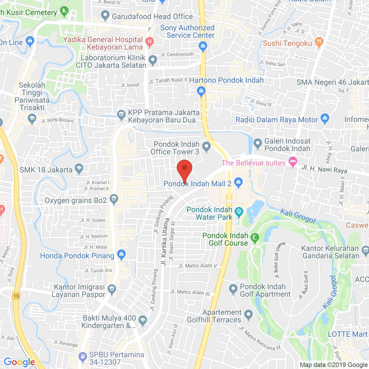 Pondok Indah Residence Map