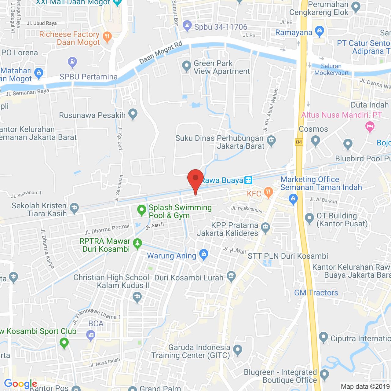 Semanan Indah Apartment Map