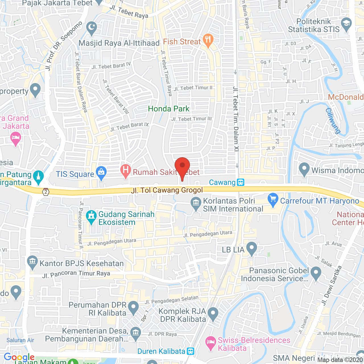Signature Park Apartment Map