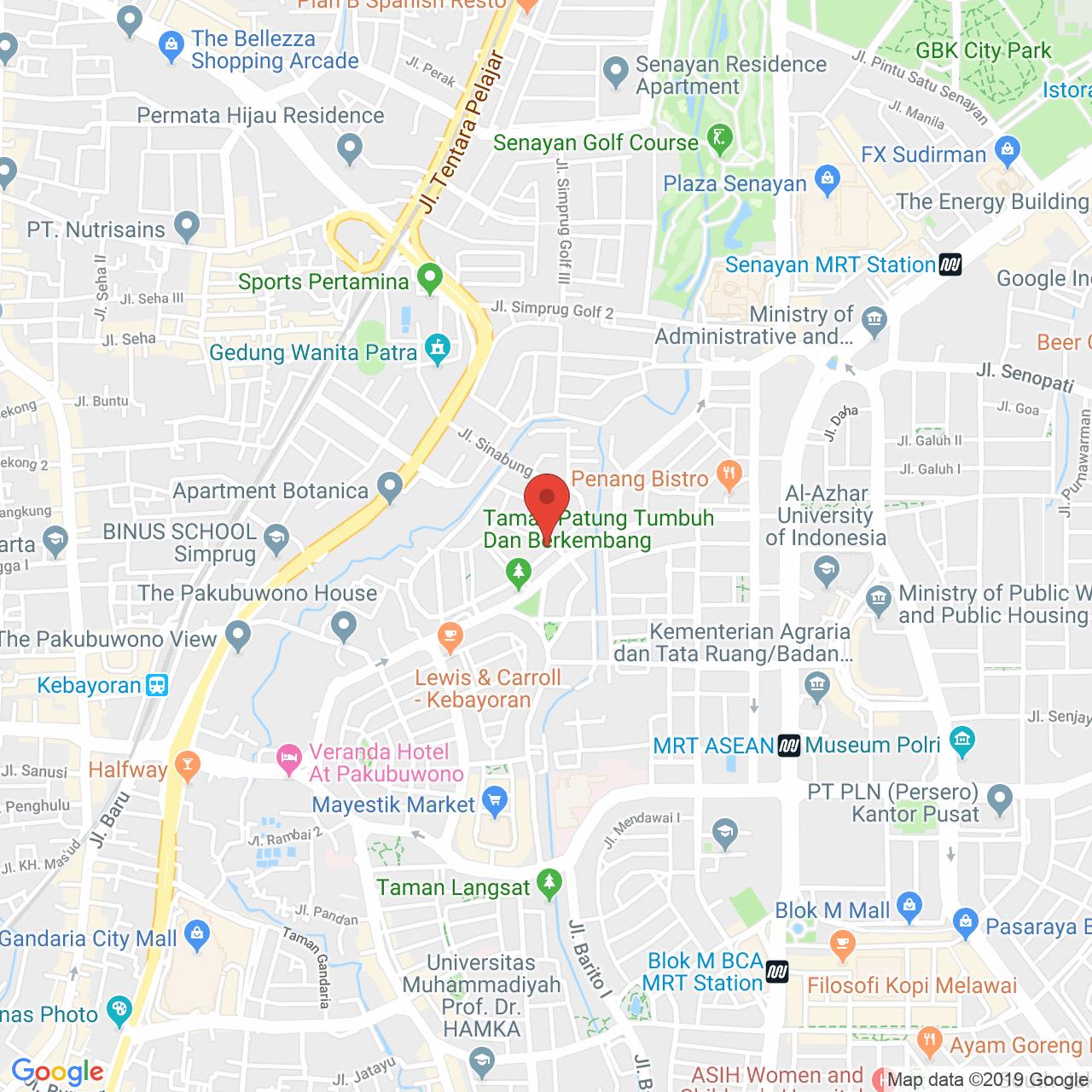 Sinabung Mansion Map
