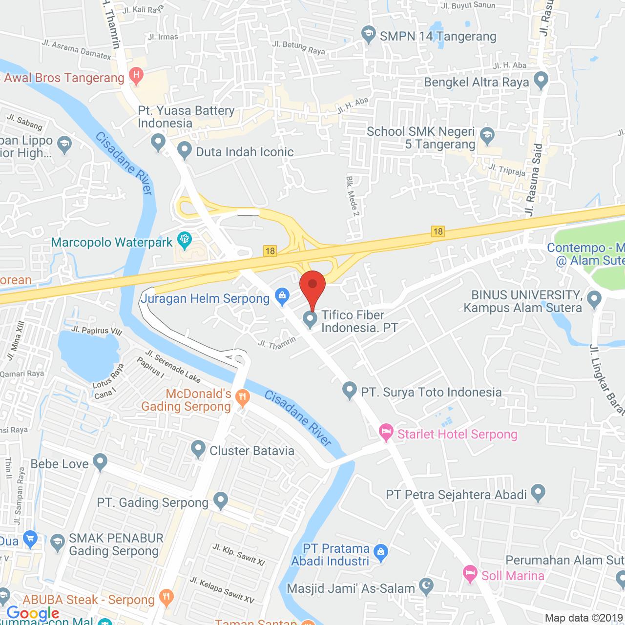 Springwood Residence Map