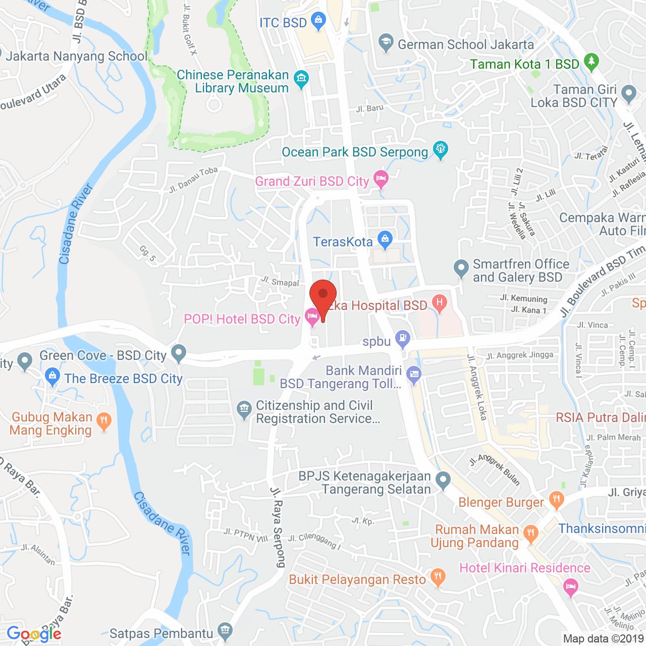 Tree Park BSD Map
