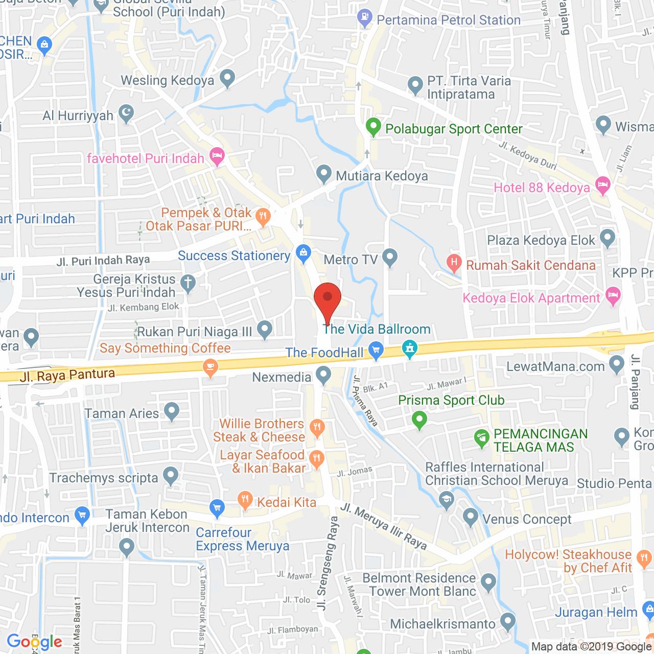 Veranda Residence Map