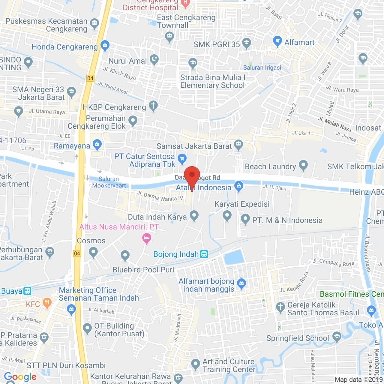 Vittoria Residence Map
