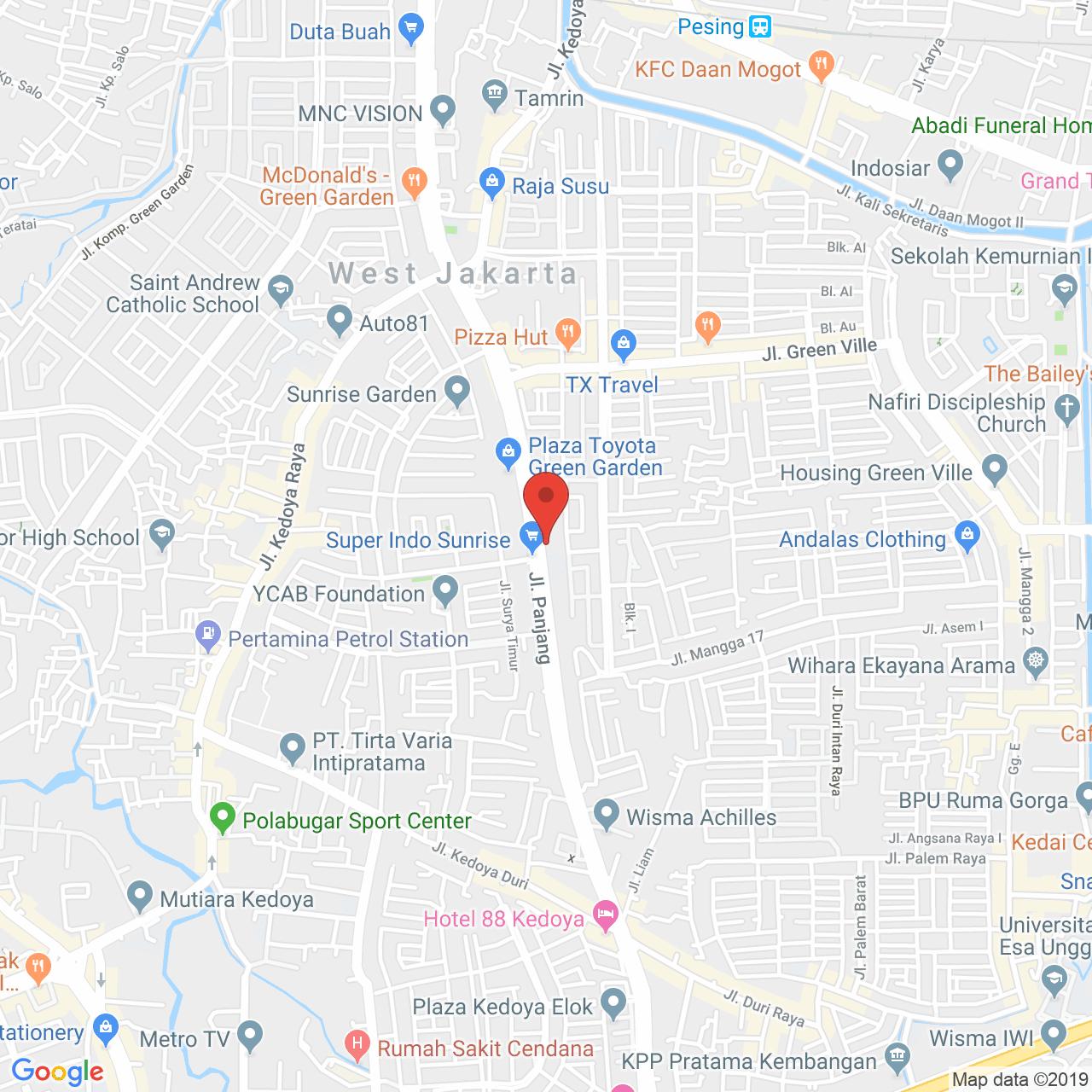 Wang Residence Map