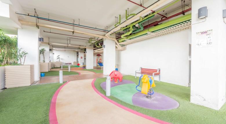 arena bermain anak di apartemen signature park