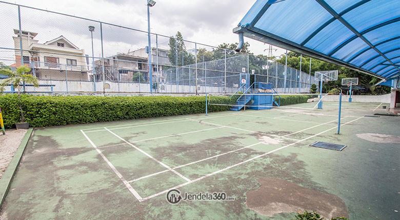 lapangan badminton apartemen park royale