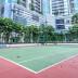 Fasilitas lapangan tennis The Bellagio Residence