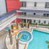 kolam renang di gardenia boulevard apartment