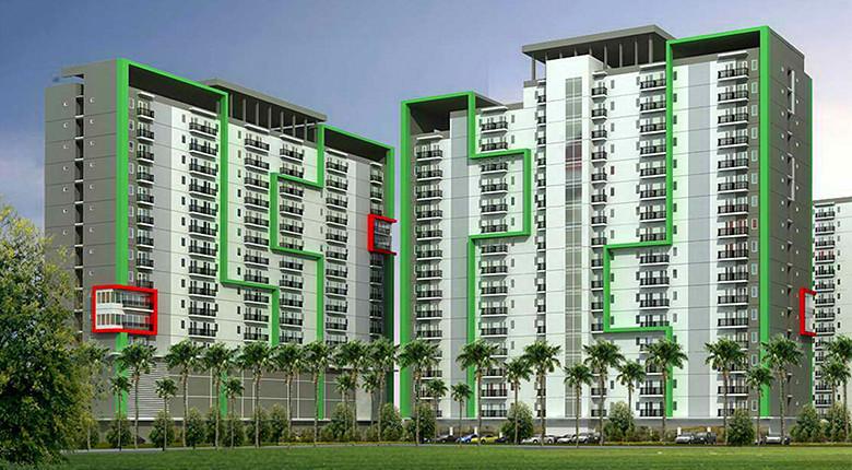 apartemen green lake view