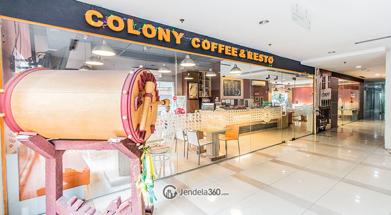 colony coffe dan resto taman sari sudirman