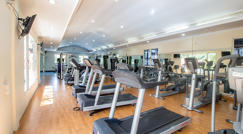 gym executive paradise complex apartment