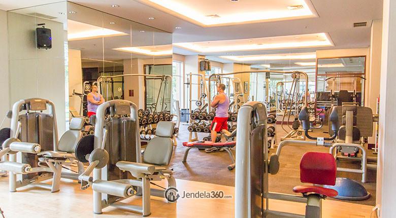 fasilitas gym pakubuwono residence