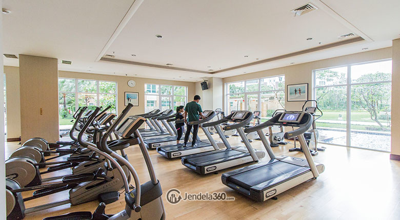 fitness center pakubuwono residence