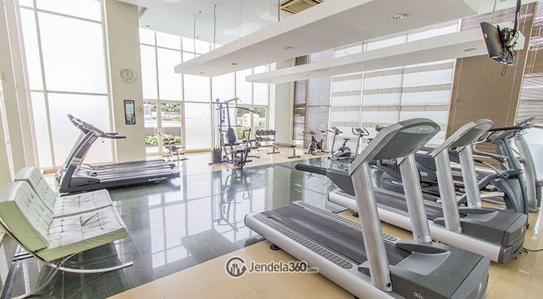 gym patria park apartment