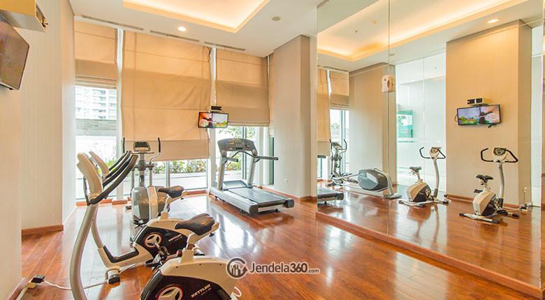 fasilitas gym st moritz apartment