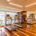 fasilitas gym di fraser residence