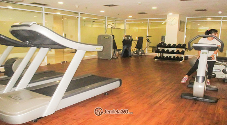 fitness center di essence darmawangsa apartment
