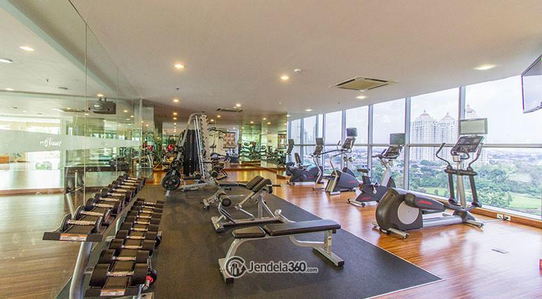 gym centre apartemen senayan residence