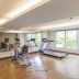 fasilitas gym di apartemen oak tower