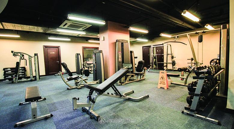 fasilitas gym apartemen pondok indah golf
