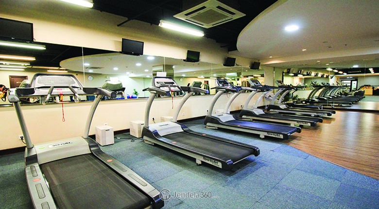 fitness center pondok indah golf apartment
