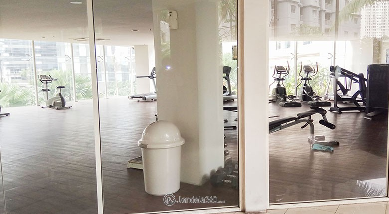 gym royal mediterania garden residence apartment