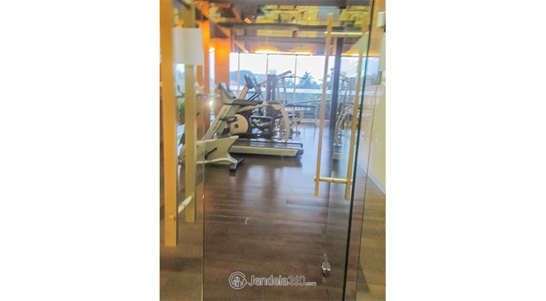 gym kemang village apartment