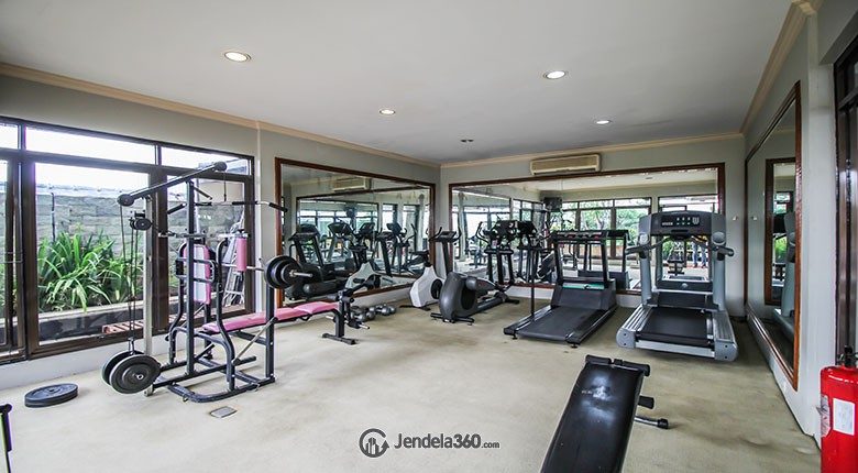 gym di apartemen wijaya executive mansion