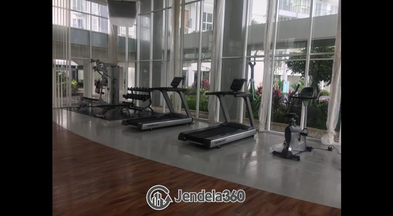 Gym Apartemen Casa De Parco Apartment