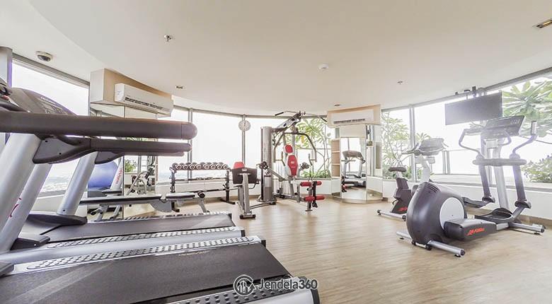 gym Apartemen ST Moritz Apartment