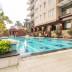 kolam renang di apartemen istana sahid