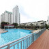 kolam renang jakarta residence di thamrin city