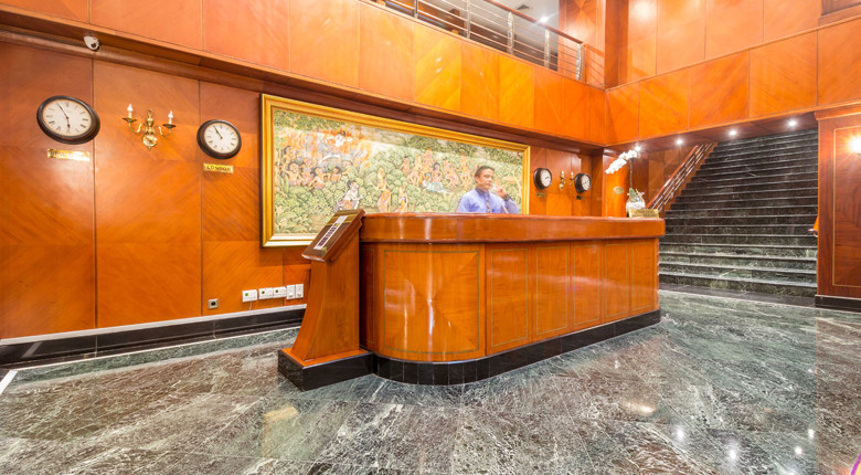 Lobby di Apartemen Istana Sahid