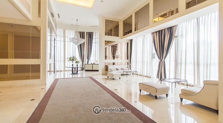 lobby di apartemen st moritz